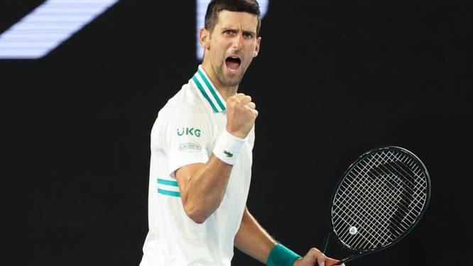 Djokovic schakelt revelatie Karatsev uit en is eerste finalist op Australian Open