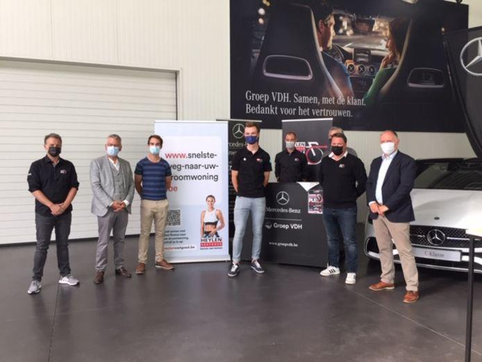 De organisatoren van de Heistse Pijl gaven woensdag bij sponsor Heylen Vastgoed een laatste stand van zaken.