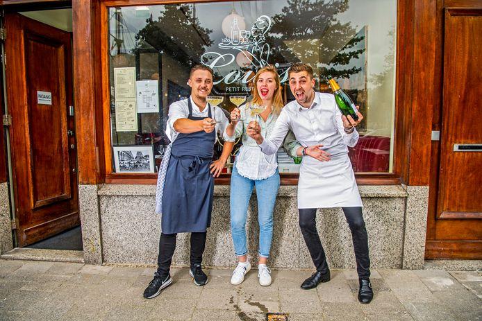 ,,O my god, o my god, o my god!'' is de eerste reactie van de eigenaresse van petit restaurant Louise, de winnaar van de Gouden Pollepel 2018-2019.