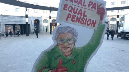 Vrouwen krijgen in ons land gemiddeld 613 euro minder pensioen