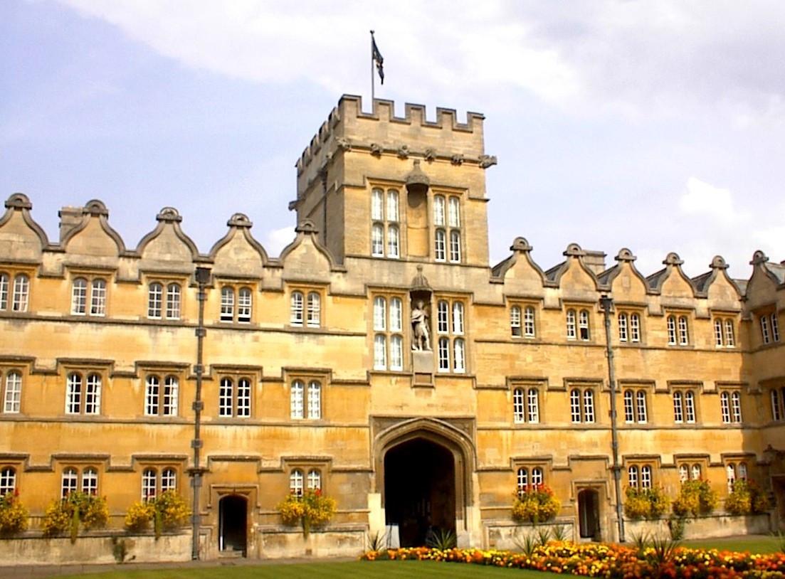 een aantal heeft onderdak heeft gevonden in de oudste universiteit van Groot-Brittannië, Oxford.