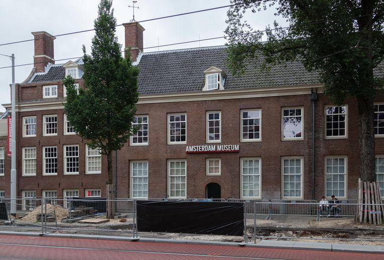 De commissie onderschrijft wel dat het Amsterdam Museum moet worden verbouwd. Beeld Nina Schollaardt