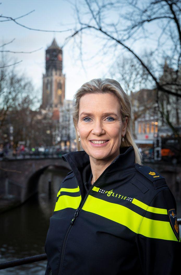 Liesbeth Maas is sinds een halfjaar politiechef van de stad Utrecht.