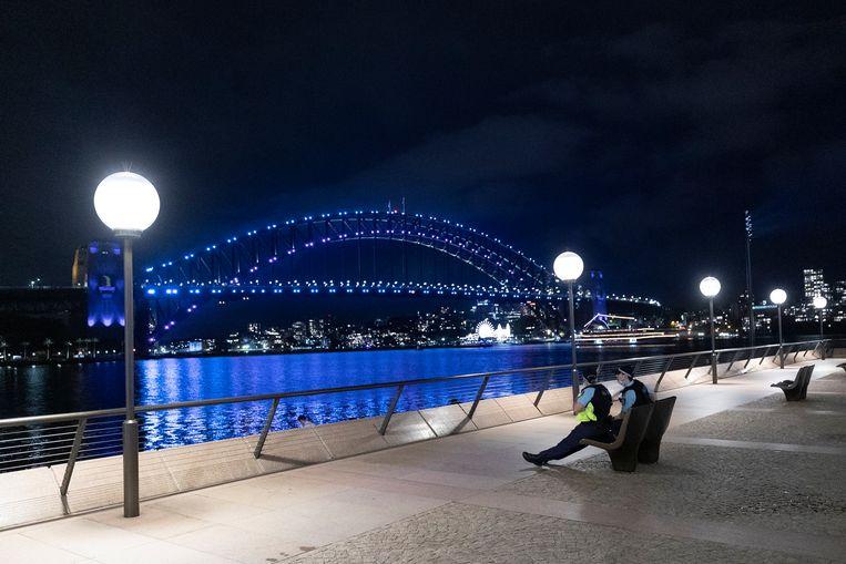 In Sydney, Australië, gaat het er betrekkelijk rustiger aan toe. Beeld Getty Images