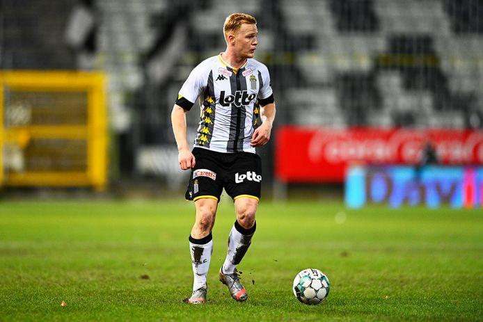 Charleroi-verdediger Jules Van Cleemput.