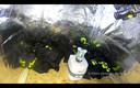 In de zeecontainers werden ook politie-uniformen gevonden.