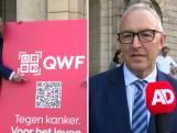 Burgemeester Aboutaleb trapt jaarlijkse KWF-collecteweek op unieke wijze af