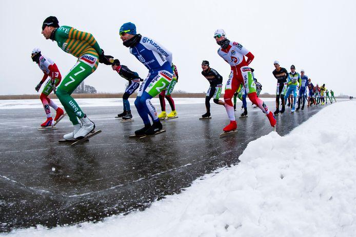 Al sinds 2013 wachten de marathonschaatsers op een NK op natuurijs. Destijds werd er gereden op het Veluwemeer.
