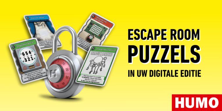 Escape Room puzzels Beeld Humo
