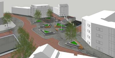 Wordt het Oranjeplein in Breda-Zuid het Marga Minco-plein?