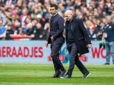 Feyenoord neemt afscheid van Jan Wouters