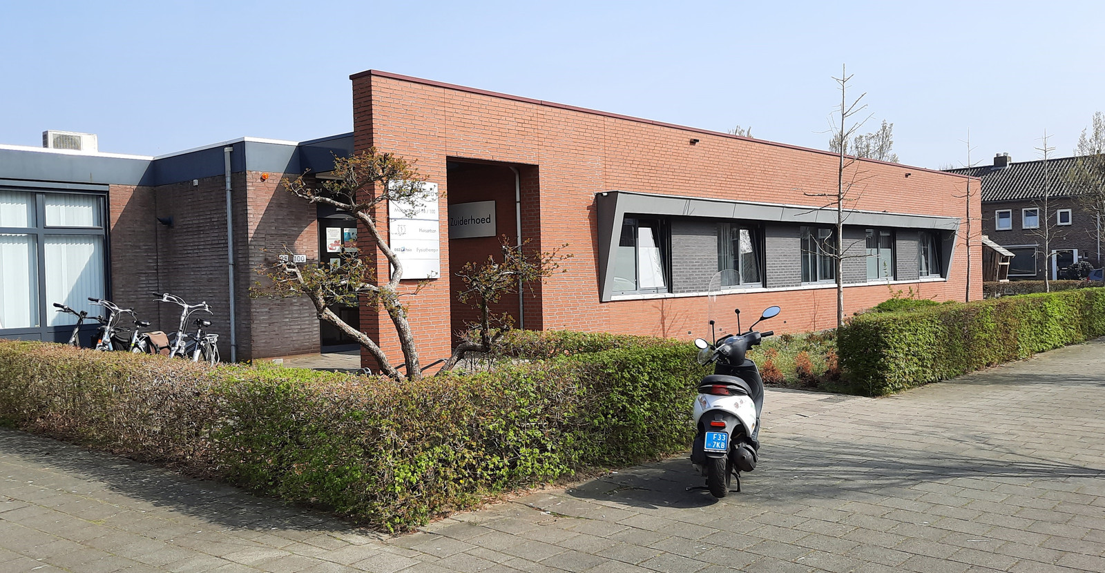 De huisartsenpraktijk Zuiderhoed aan de Mozartsingel is veel te klein.