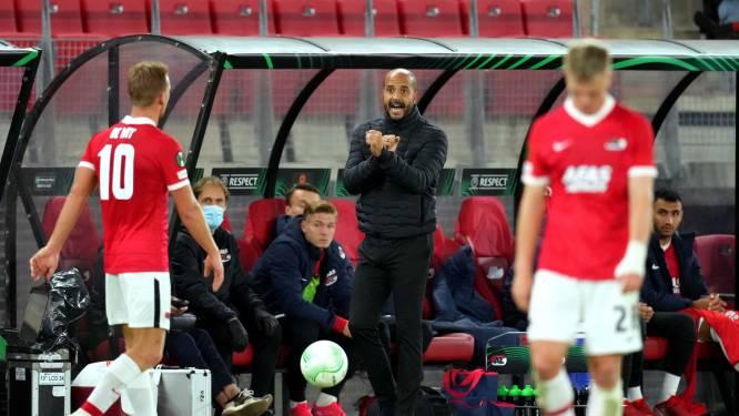 Trainer Pascal Jansen snapt morrende AZ-fans tijdens krappe zege op Jablonec