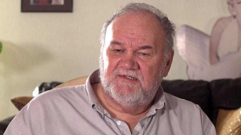 Le père de Meghan Markle, Thomas Markle.