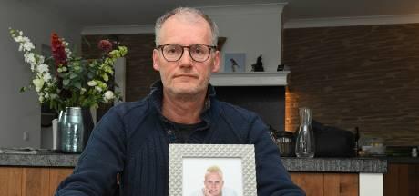 Dennis uit Boxmeer maakte een einde aan zijn jonge leven. Vader Guido: 'Dodelijk gif xtc vrat aan hem'