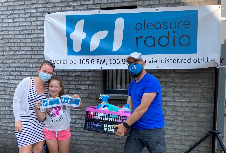 """""""Dit bewijst nog maar eens dat Radio TRL zeer goed beluisterd wordt"""", zegt eigenaar David Tourny."""
