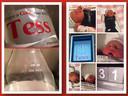 Op het flesje Coca-Cola staat de geboortedatum van Tess: 31 januari 2015