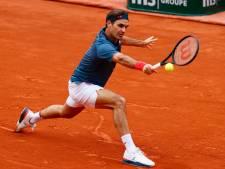 Roger Federer manque son retour sur terre battue