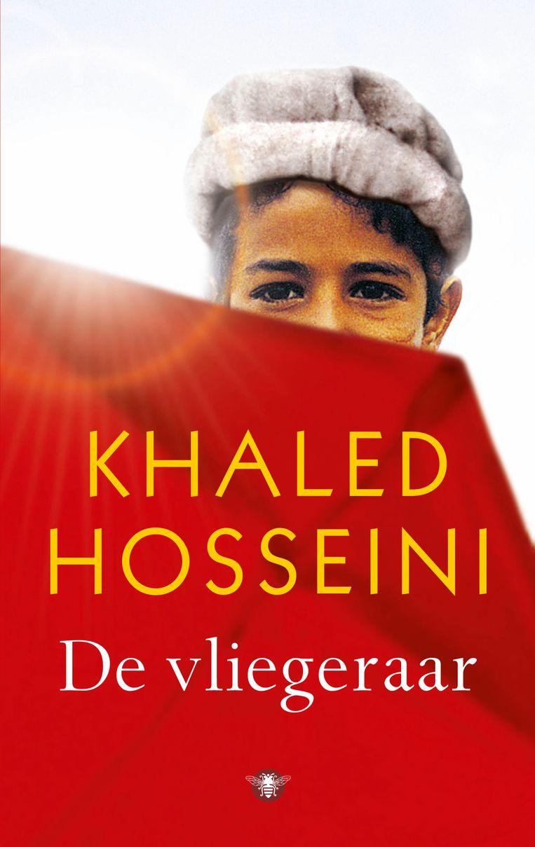 De cover van het boek 'De vliegeraar' van Khaled Hosseini. Beeld