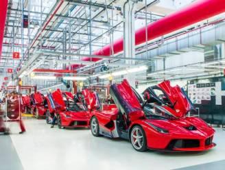 Ferrari en Lamborghini maken helemaal geen auto's meer, Fiat sluit vier fabrieken