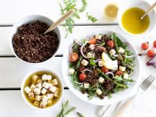 Wat Eten We Vandaag: Frisse linzensalade met witte kaasblokjes