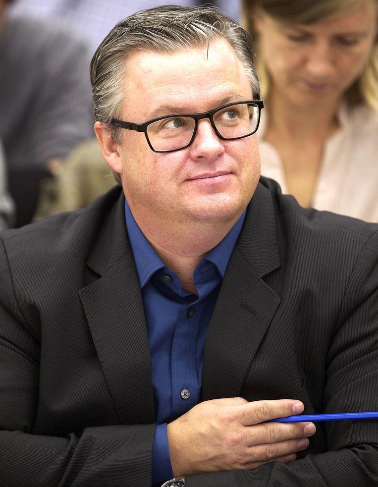 Carl Devos. Beeld BELGA