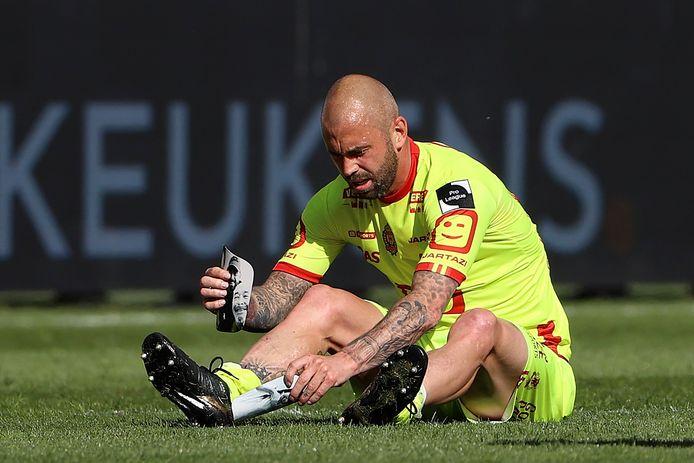 Defour viel afgelopen zondag uit in Gent, maar zou toch speelklaar geraken voor de thuismatch zondag tegen KV Oostende.