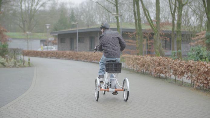 De Blauwe Kamer/Koninklijke Visio aan de Galderseweg in Breda.