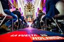Breda, foto: Joris Knapen | Pix4Profs.   Onder belanangstelling van de internationale pers en hoogwaardigheidsbekleders werden vol trots de eerste 3 etappes van de Vuelta 2020 gepresenteerd.    Spaanse sfeeren tijdens de presentatie