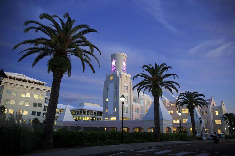 Bermuda, een van 's werelds bekendste belastingparadijzen. Beeld AFP