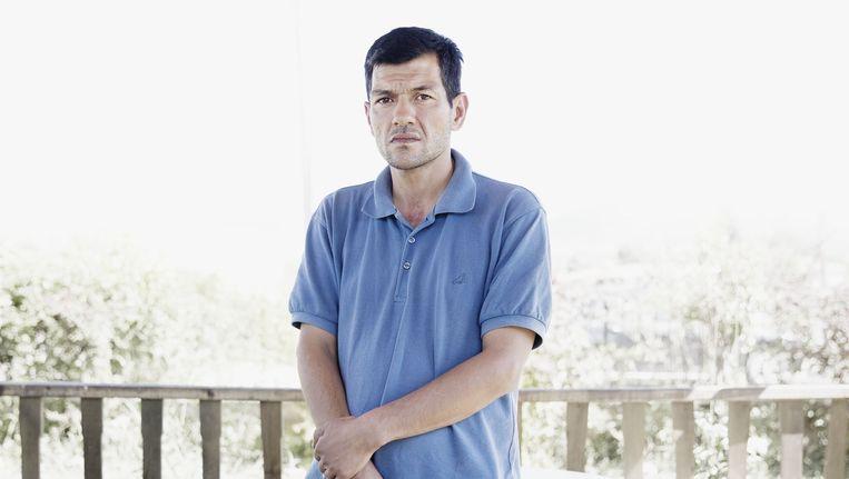 Abdullah Kurdi, vader van Aylan Kurdi Beeld Daniel Rosenthal