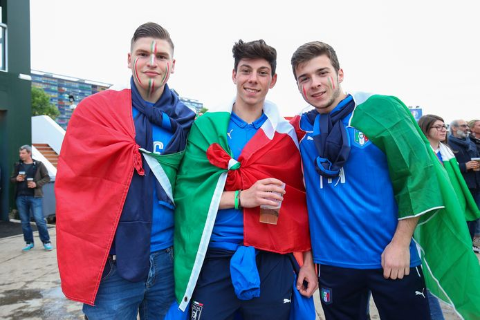 Supporters italiens