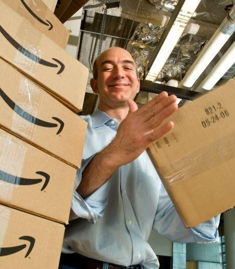 Begonnen in een garage, nu de op een na rijkste man ter wereld: Amazon-oprichter Jeff Bezos