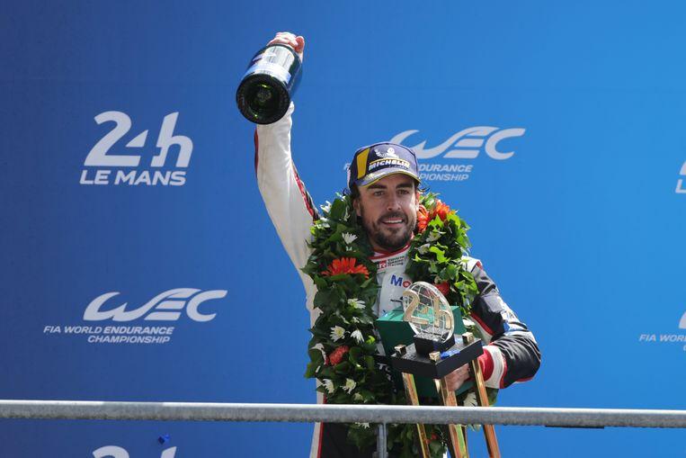 Winst van de 24 uur van Le Mans in 2018. Beeld Getty Images