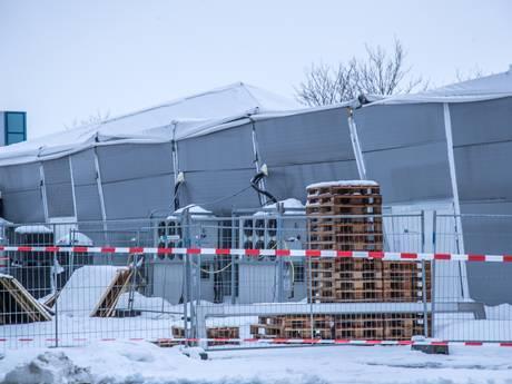 Tent ingestort, ijsbeeldenfestival Zwolle gaat niet door