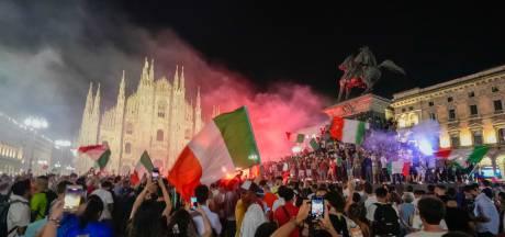 """""""Forza Italia! Campioni d'Europa!"""": l'Italie s'embrase pour fêter son sacre et oublier la pandémie"""