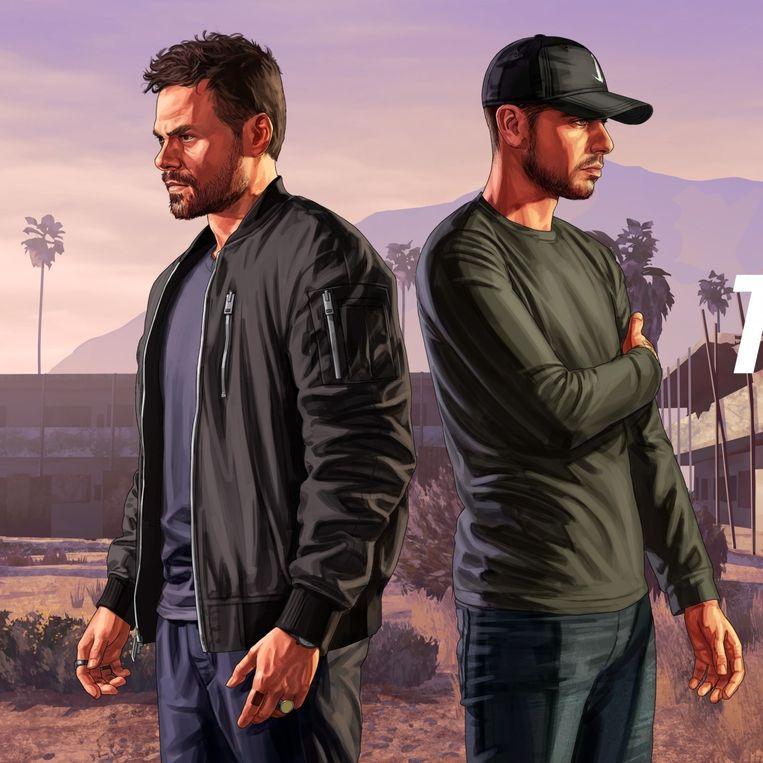 Deejay-duo Tale of Us komt virtueel draaien in de nachtclub van 'Grand Theft Auto Online'-spelers die een succesvol crimineel imperium hebben opgebouwd. Beeld Rockstar Games