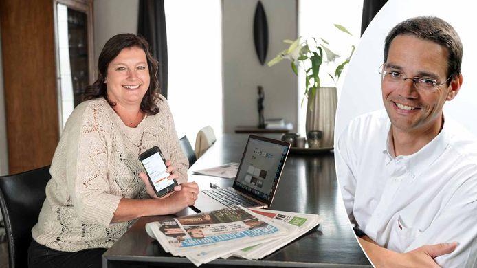 Onze journaliste Inge Stiers (links) telde hoeveel minder stappen ze zet door thuis te werken. Sportfysioloog Johan Roeykens (rechts) vertelt hoe je de nadelen daarvan zoveel mogelijk kan beperken.