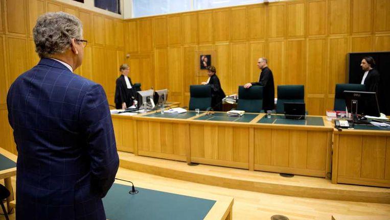 Henk Krol in de rechtbank in Den Bosch Beeld anp
