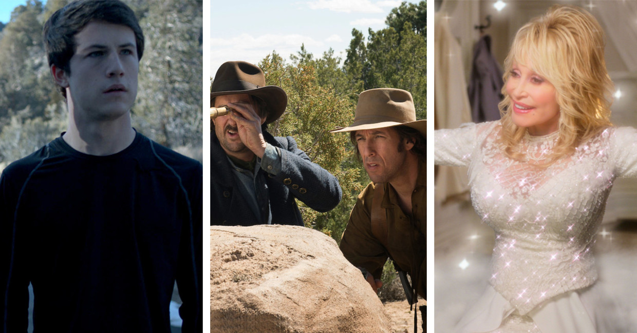 'The Open House', 'The Ridiculous 6', 'Dolly Parton's Christmas on the Square' Beeld Humo