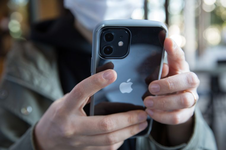 De iPhone 12. Beeld Getty