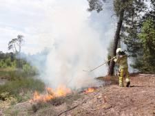Brandweer heeft natuurbrand bij Bostheater Ommen snel onder controle