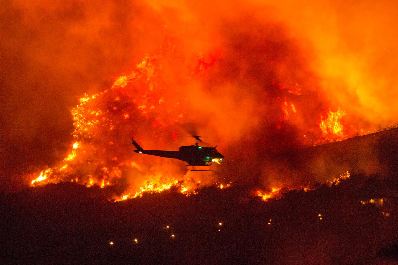 Zo'n 9000 hectare bos ging in vlammen op, nadat een babypartijtje op een enorme brand uitliep.