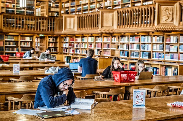 Universiteitsbibliotheek Leuven. Beeld Tim Dirven