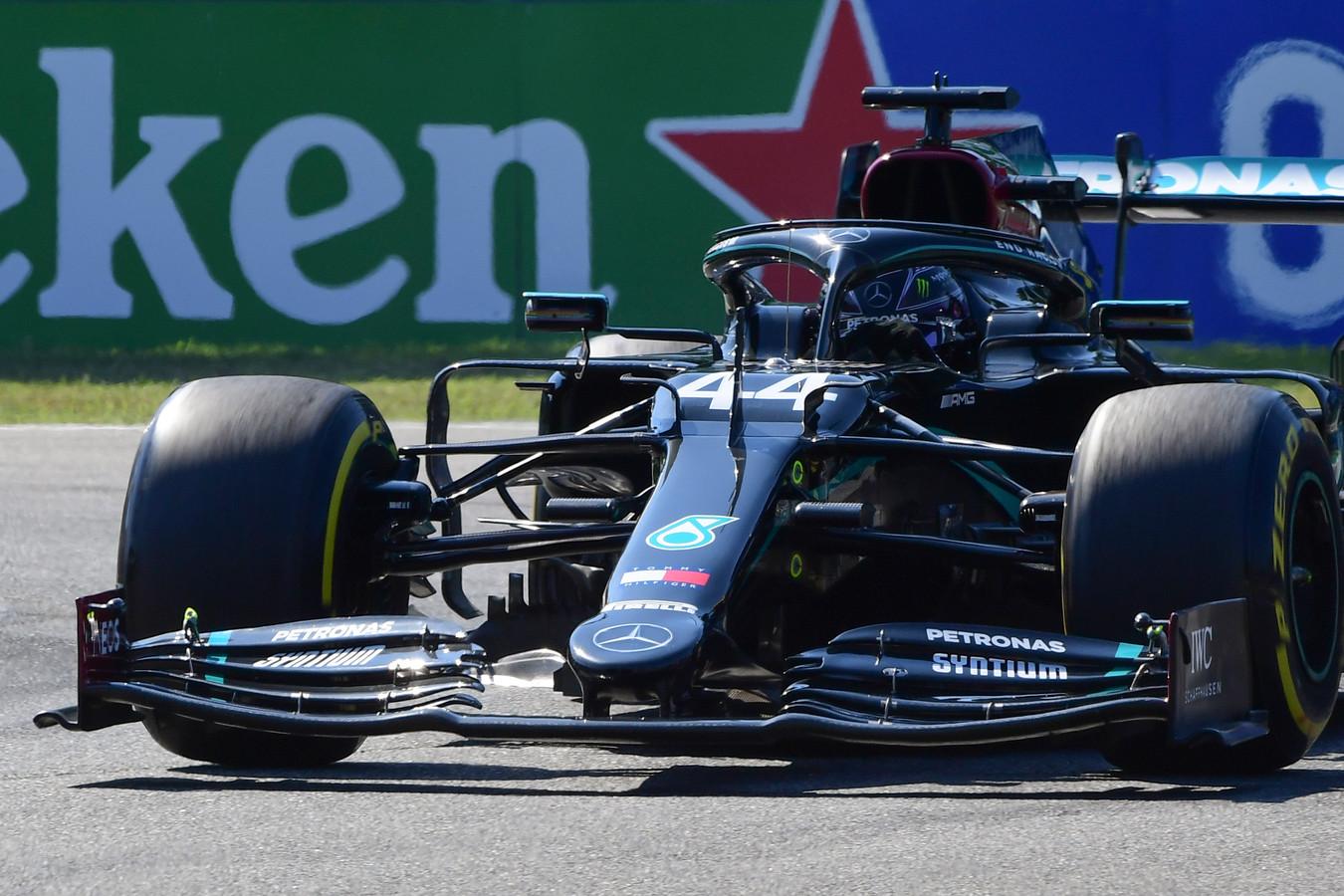 Nouvelle pole position pour Lewis Hamilton.
