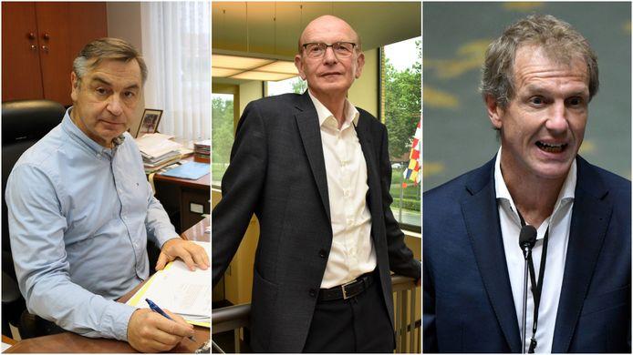 Luc Peetermans van Herselt, Leo Van Tilburg van Baarle-Hertog en Jan Bertels van Herentals. Drie burgemeesters die na de verkiezingen van 2018 naar de oppositiebanken werden verwezen. Voor Peetermans en Van Tilburg was dat zelfs ondanks het feit dat ze nog altijd de grootste partij waren.