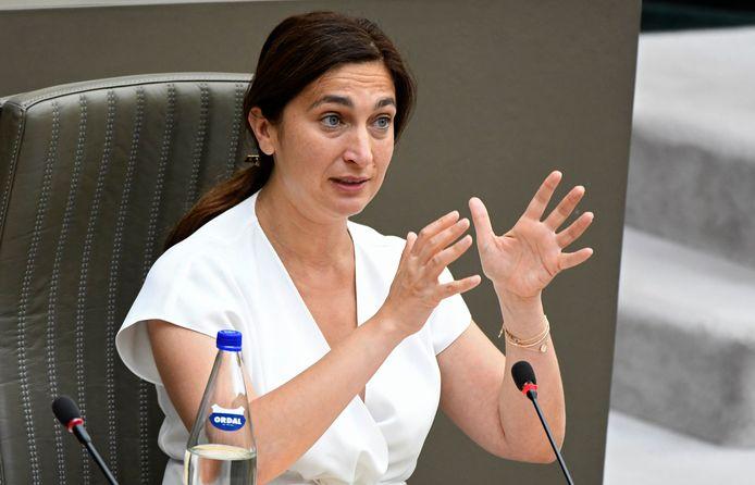 Zuhal Demir, ministre flamande de la Justice.