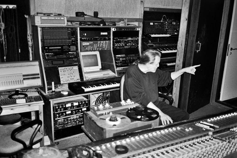 Alain Pierre in zijn studio: