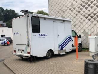 Drietal weken na overstromingen kan politie van Pepinster weer aan de slag gaan in mobiel kantoor