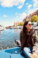 Vanessa Fierens in Kopenhagen.